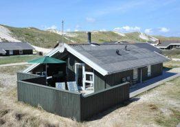 Gepflegtes Ferienhaus nur 100 Meter vom Strand entfernt (Bild 1)