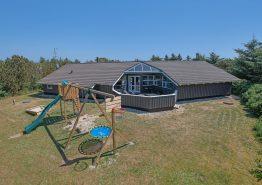 Ferienhaus mit Swimmingpool & Wärmepumpe, Hunde erlaubt