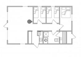 Qualitätshaus mit zwei geschützten Terrassen (Bild 2)