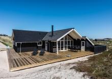 Strandnært ikke-ryger-hus med spa og sauna. Kat. nr.:  C3579, Skodbjergevej 24 B;