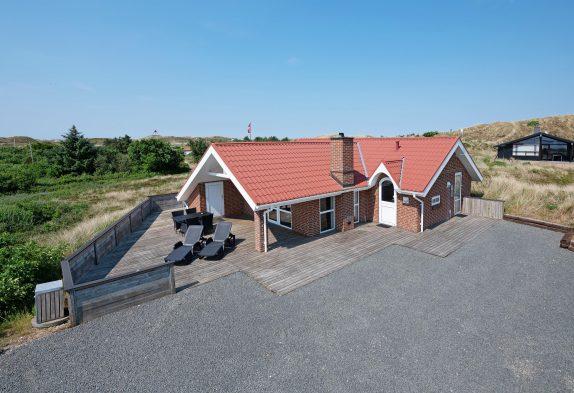 Ferienhaus mit Blick auf den Fjord für 6 Personen