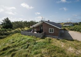 Neues Ferienhaus mit schöner Terrasse nah am Fjord (Bild 1)