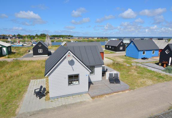 Charmante Hütte in Hvide Sande – ideal für Angler