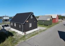 Feriehus med skøn beliggenhed ved fjorden. Kat. nr.:  F4461, Æ Gammel Havn 33;