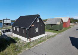 Ferienhaus in schöner Lage am Fjord. Kat. nr.:  F4461, Æ Gammel Havn 33;