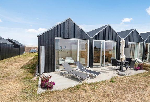 Ferienhaus in toller Lage mit Blick auf den Fjord