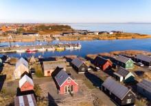 Gemütliches kleines Haus am Hafen in Hvide Sande
