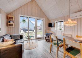 Gemütliche Hütte am Hafen mitten in Hvide Sande (Bild 3)