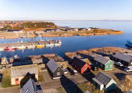 Angler Hütte in Hvide Sande mit gratis Strom