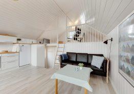 Moderne Fischerhütte mit Terrasse (Bild 3)