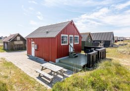Moderne Fischerhütte mit Terrasse (Bild 1)