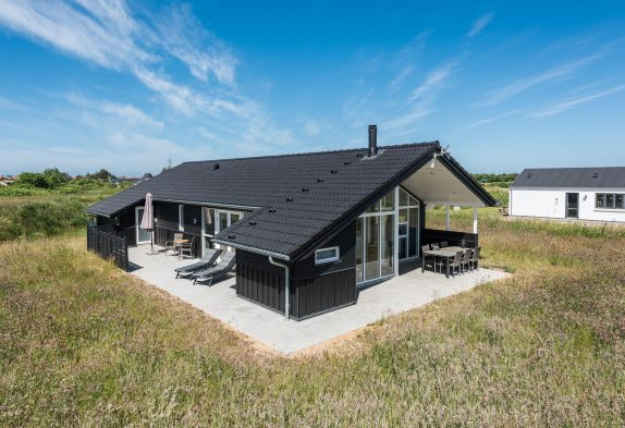 Sommerhaus mit Fjordblick, zwei Bädern und Whirlpool