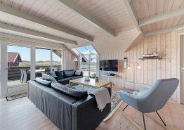 Hundevenligt feriehus med sauna og udsigt til Lyngvig Fyr (billede 3)