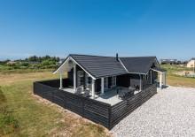Holzhaus mit geschlossener Terrasse – nahe dem Fjord. Kat. nr.:  G5509, Anker Eskildsens Vej 22;