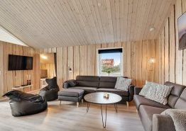 Stilfuldt luksushus til 8 personer med spa og sauna (billede 3)