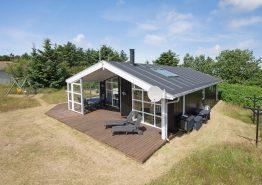 Schön eingerichtetes Ferienhaus mit abgeschirmte Terrasse. Kat. nr.:  G5637, Fyrmarken 30;