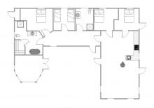 Strandnahes Ferienhaus m. Sauna, Whirlpool und Terrasse (Bild 2)