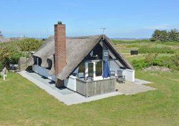 Charmerende hus med sauna, internet og hund tilladt. Kat. nr.:  H5662, Nordsø Ferievej 6;