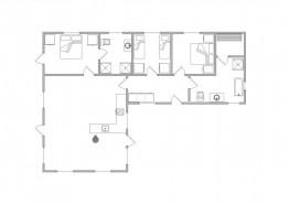 Haus mit Reetdach und geschl. Terrasse ? 1 Hund erlaubt (Bild 2)
