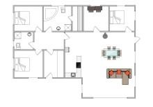 Dejligt luksussommerhus med havglimt (billede 2)