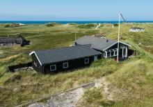 Skønt feriehus med smuk udsigt over Vesterhavet. Kat. nr.:  J6338, Sortebærdalen 37;