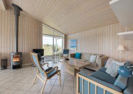 Einladendes Ferienhaus mit Außendusche und 250 m zum Meer (Bild 3)