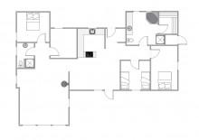 Hus med varmepumpe, flot udsigt og lukket terrasse (billede 2)