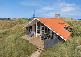 Schönes Ferienhaus in ruhiger Lage und toller Terrasse. Kat. nr.:  J6561, Klitdalen 39
