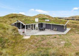 Charmantes Sommerhaus in Houvig mit nur 500 Meter Strandentfernung. Kat. nr.:  J6592, Sortebærdalen 10;