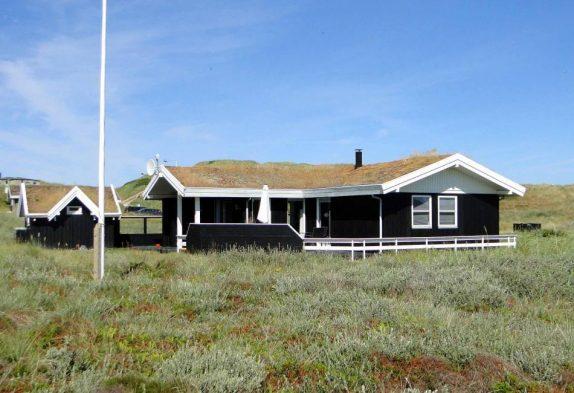 Haus auf Naturgrundstück mit Terrasse, nah an den Dünen