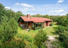 Ferienhaus mit Sauna auf abgeschirmtem Naturgrundstück