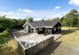 Holzhaus an der Nordsee dicht bei Søndervig (Bild 1)