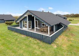 Indbydende sommerhus på Lodbjerg Hede med sauna og spabad (billede 1)