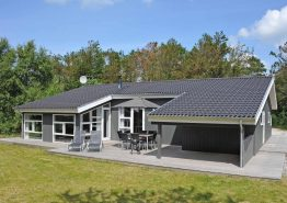 Flot feriehus i rolige omgivelser på Lodbjerg Hede