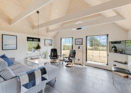 Moderne stråtækt feriehus med spa, sauna og fjordudsigt (billede 3)