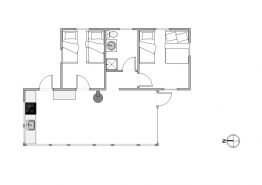 Sommerhus til 4 personer med flot beliggenhed midt i naturen (billede 2)