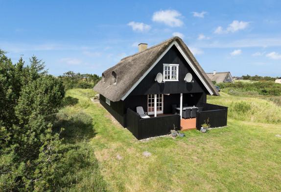 Charmantes Haus auf einem geschützten Naturgrund