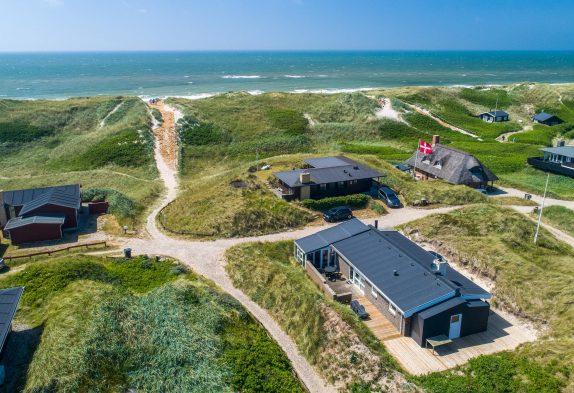 Ferienhaus für 6 Personen mit kurzem Abstand zum Strand