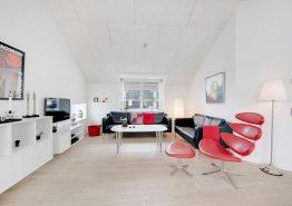 Moderne und helle Ferienwohnung mitten in Sondervig (Bild 3)