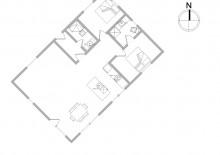 Moderne und helle Ferienwohnung mitten in Sondervig (Bild 2)