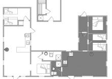 Ferienwohnung in Doppelhaushälfte, ideal für 2 Familien (Bild 2)