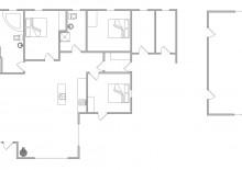 Sommerhaus mit Fischreinigungsplatz und Außendusche (Bild 2)