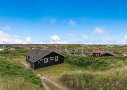 Ferienhaus am Strand mit Meerblick und schnellem Internet. Kat. nr.:  i6407, Nordsøvej 270;