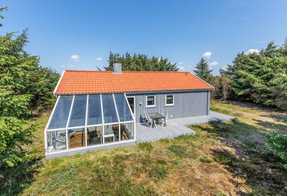 Gemütliches Ferienhaus mit Wintergarten in ruhiger Lage