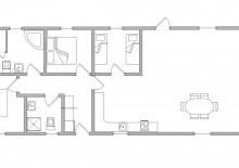 Ferienhaus m. Kamin, Reetdach und geschlossener Terrasse (Bild 3)