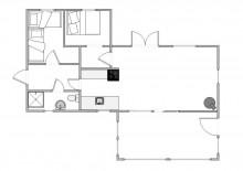 Gut gelegenes und helles Ferienhaus mit Wintergarten (Bild 2)