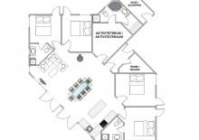 Geräumiges Ferienhaus mit Aktivitätsraum und Terrassen (Bild 2)