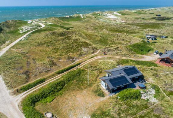 Schönes Ferienhaus mit Sauna nur 200 Meter vom Strand entfernt